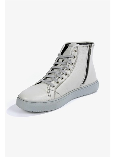 Krähe Vrana Gri Deri Minimal Sneaker Bot Gri